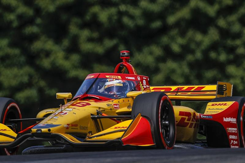 Hunter-Reay frustrated by Dixon