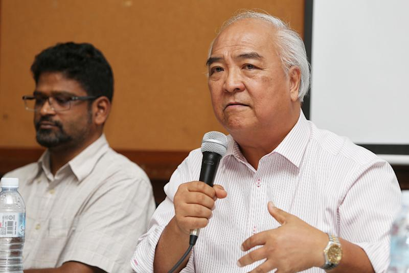 Datuk Mah Weng Kwai speaks at a forum by Suaram and EDICT (Eliminating Death and Abuse in Custody Together) on police responsibility and how IPCMC can help strengthen the police force July 16, 2019. — Picture by Choo Choy May