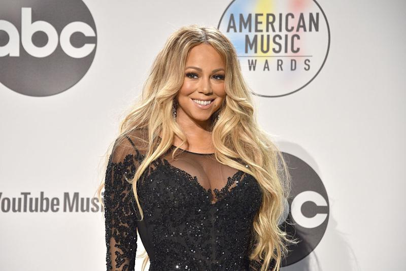 Mariah Carey has long advocated for the use of hand sanitizer. (Photo: David Crotty/Patrick McMullan via Getty Images)