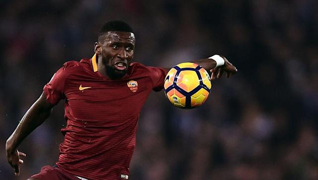 <p>The son of a German father and Sierra Leonean mother, Rudiger swapped Stuttgart for Roma last summer, after coming through Dormtund's academy and is currently thriving in Luciano Spalletti's attacking side.</p> <br><p>Rudiger, now a full Germany international, has and athletic style and has been linked with just about every big club going - most notably Chelsea and Liverpool.</p>