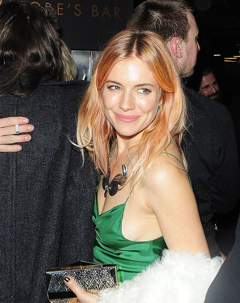 <p>Shown here on <strong>Sienna Miller</strong>, coral hair is a shade that works for all skin tones and works in medium blonde or lighter hair. </p>