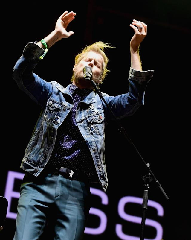<p>Andrew McMahon In The Wilderness performs on Ambassador Stage during day 2 of the 2017 Life Is Beautiful Festival on September 23, 2017 in Las Vegas, Nevada.<br>(Photo: Getty Images) </p>
