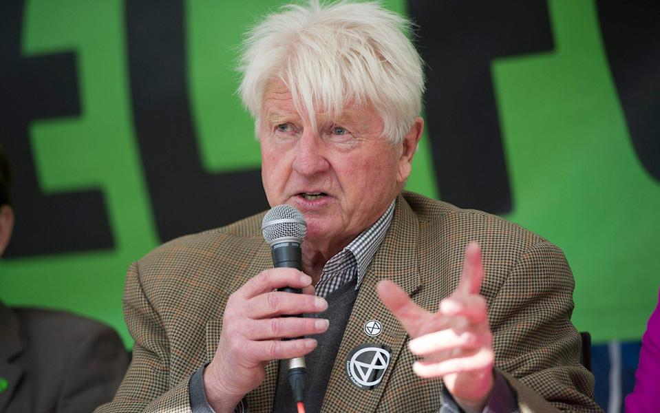 Stanley Johnson will be asking the government to commit to wilder farming at COP26 -  Eddie Mulholland