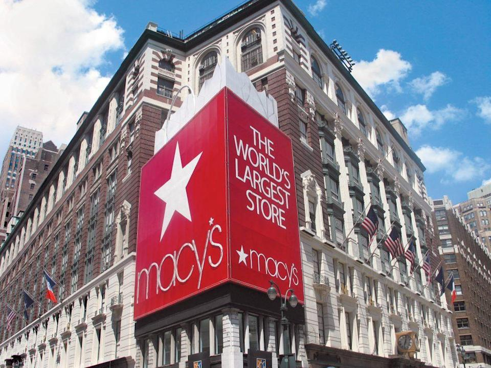 An exterior view of Macy's Herald Square flagship in New York. - Credit: Courtesy of Macy's