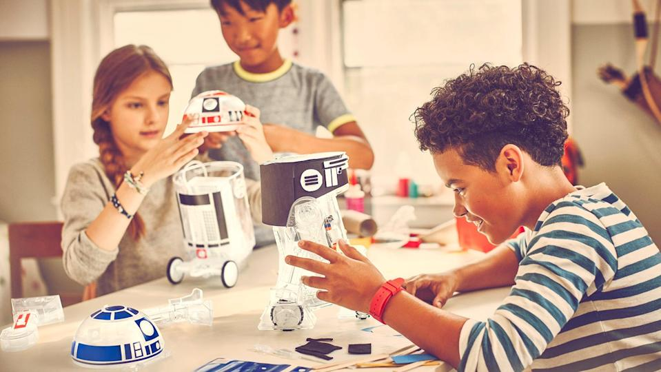 <p>The <span>LittleBits Droid Inventor Kit</span> ($70, originally $100) puts a Star Wars spin on science and walks them through building their very own R2-D2 droid.</p>