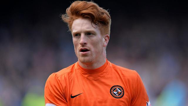 Inverness secured seventh place with a 4-0 win over Dundee, while Simon Murray scored twice as relegated Dundee United won 4-2 at Kilmarnock