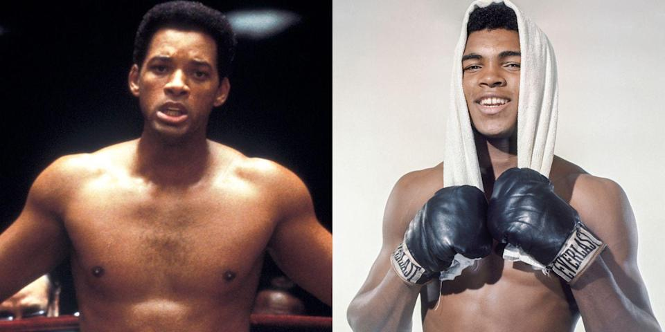 <p>Will Smith in his prime. Smith played Muhammad Ali in the 2001 film—wait for it—<em>Ali.</em></p>