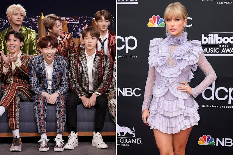 Taylor Swift Fans and BTS Fans Outraged After 2020 Grammy Nominations Snubs