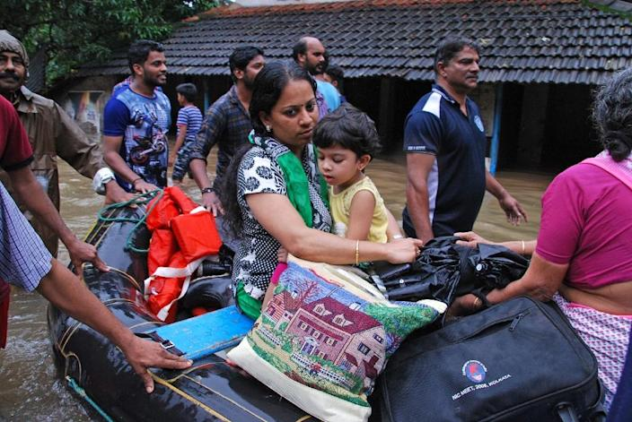 Thousands are still waiting for relief and rescue across the flood-ravaged state (AFP Photo/-)