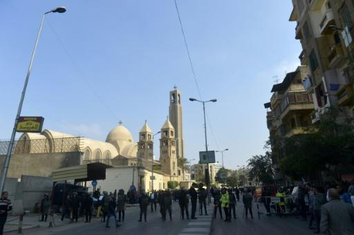 At least 25 dead in blast at Cairo church: state media