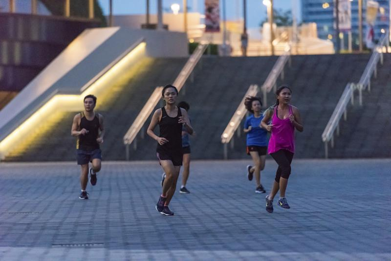 A Garmin boot camp session at Singapore Sports Hub. (PHOTO: Singapore Sports Hub)