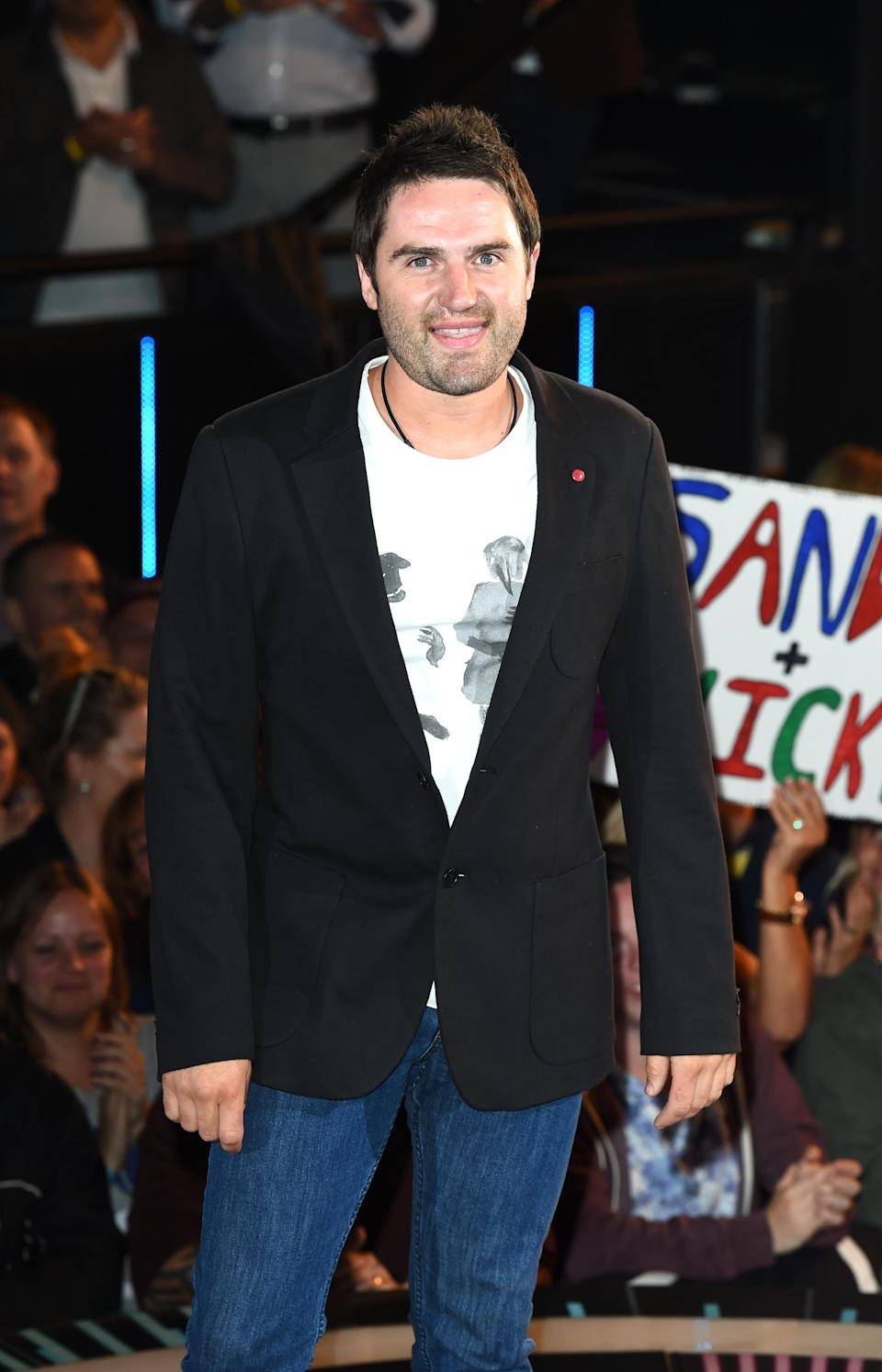 George Gilbey arriving at the Celebrity Big Brother house at Elstree studios in London in 2014. (PA)