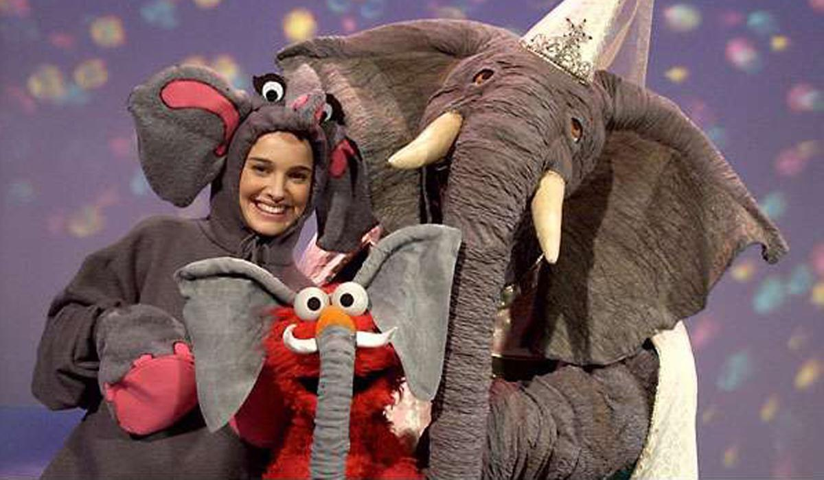 <p>Nominated for: Actress in a Motion Picture, Drama, Jackie Embarrassing Role: Amazingly, Natalie Portman once appeared on Sesame Street… dressed in an enormous elephant costume. Absolutely glorious and completely bonkers. </p>