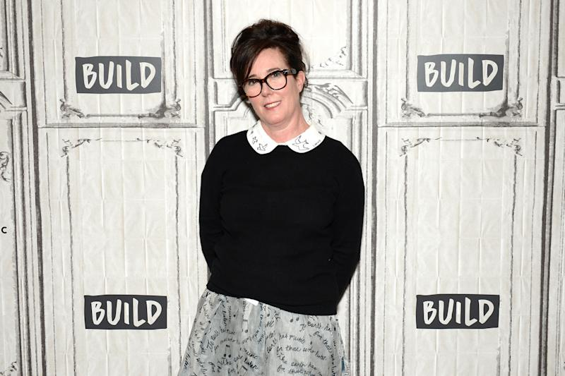 Kate Spade attending the AOL Build Series in April 2017. (Andrew Toth via Getty Images)