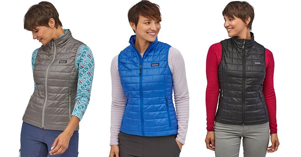 Patagonia Nano Puff Insulated Vest is up to 25 percent off. (Photo: Backcountry)