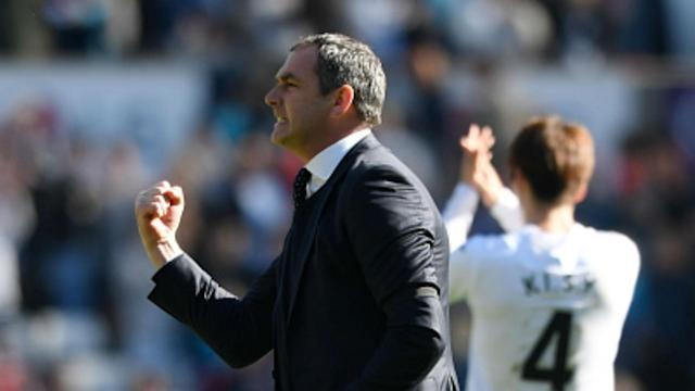 Swansea City boss Paul Clement says his side have momentum in the relegation battle after their 2-0 win over Stoke City.