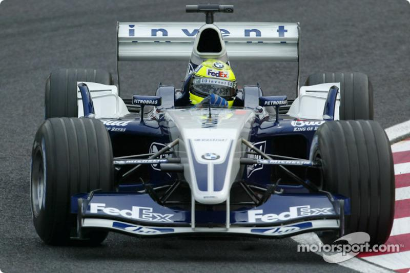 "2003: Williams-BMW FW25<span class=""copyright"">Sutton Motorsport Images</span>"