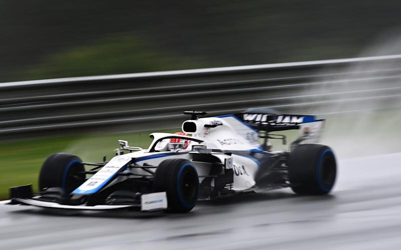 George Russell of Great Britain driving the (63) Williams Racing FW43 Mercedes on track during qualifying for the Formula One Grand Prix of Styria at Red Bull Ring on July 11, 2020 in Spielberg, Austria - Clive Mason - Formula 1