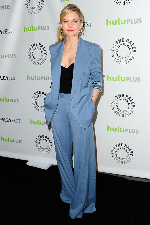 "<span>Jennifer Morrison</span> attends the 30th annual PaleyFest featuring the cast of ""Once Upon A Time"" at the Saban Theatre on March 3, 2013 in Beverly Hills, California."