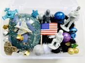 <p>Toddlers can explore the mystery of outer space at their fingertips with this <span>HappyLifeMagicShop Space Play Dough Kit</span> ($22). It contains homemade play dough, astronauts, space crafts, bouncy planets, stars, foam balls, pom poms, and an alien to introduce your little one to the vastness of space.</p>
