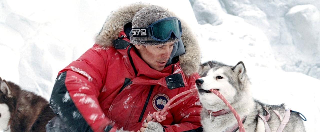 <p>It's a movie about a sledder who's saved by his dogs - only to have to leave them behind and frantically go back to rescue them later. How can it not break your heart?</p>
