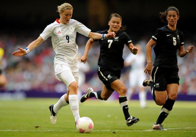 Tokyo would be a second Olympics for Ellen White (left) (Andrew Matthews/PA).