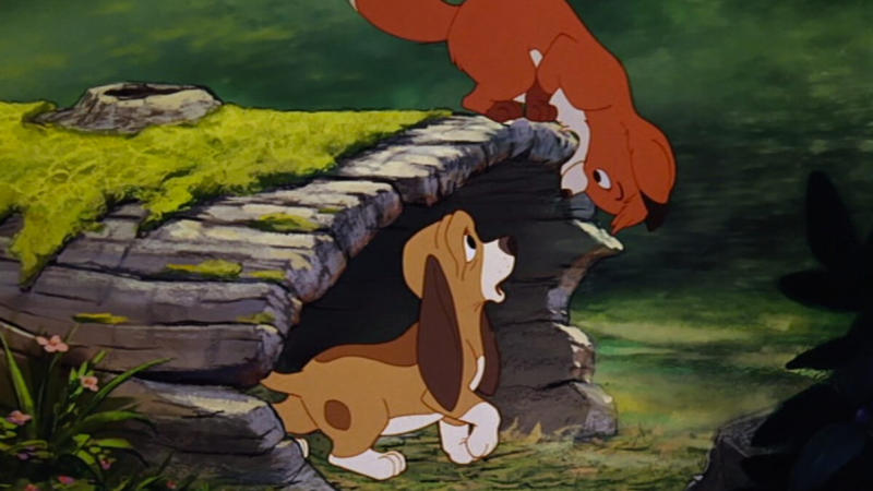 'The Fox and the Hound'. (Credit: Disney)