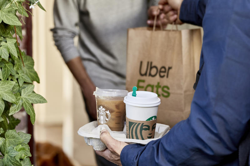 Door-to-door delivery service set to begin in select major cities in Canada this summer, including Toronto, Vancouver and Calgary (Starbucks)