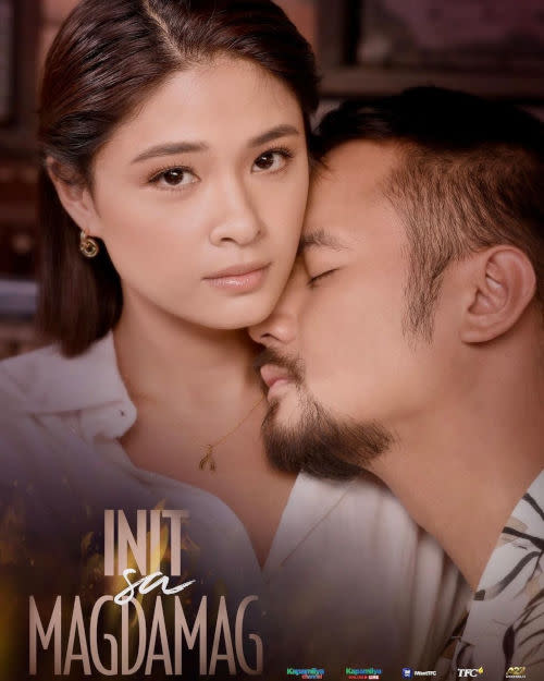 JM de Guzman stars as Yam Concepcion's husband in the series.