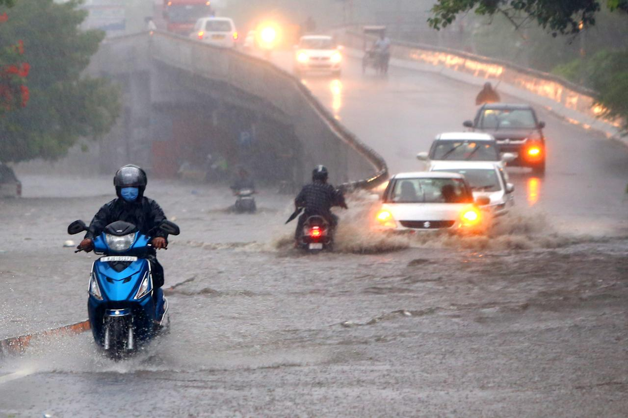 <strong>Every. Damn. Time. During. Monsoon.</strong> (Photo by Himanshu Sharma/NurPhoto via Getty Images)