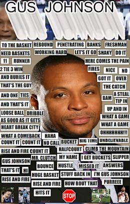 The Gus Johnson Soundboard, the answer to all life's problems
