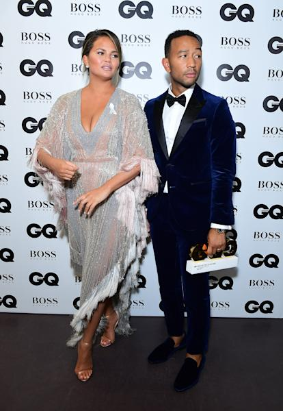 <p>The couple are celebrating their fifth wedding anniversary.</p>