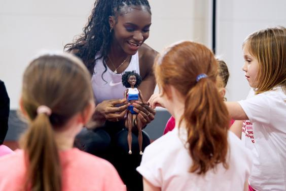 The sportswoman hopes the doll will inspire future generations (Mattel)