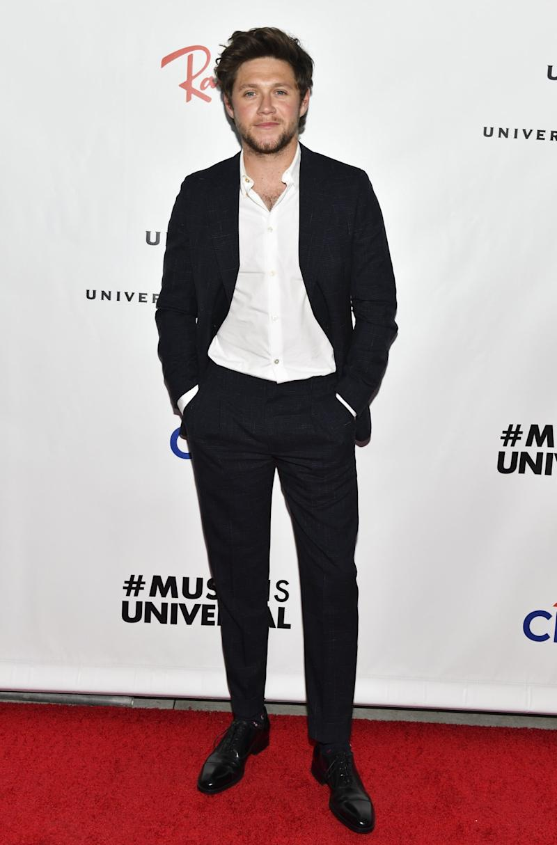 Niall Horan at the UMG party (Getty Images)