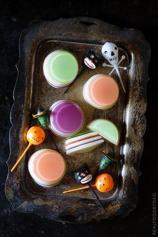"<p>After you finish making breakfast muffins, use your mini muffin tin to create these vodka jello shots. </p><p><em><a href=""http://realfoodbydad.com/halloween-jello-shots/"" rel=""nofollow noopener"" target=""_blank"" data-ylk=""slk:Get the recipe from Real Food by Dad »"" class=""link rapid-noclick-resp"">Get the recipe from Real Food by Dad »</a></em> </p>"