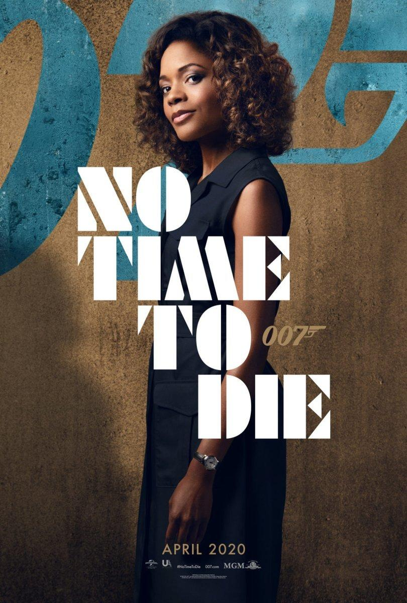 Naomie Harris makes her third appearance as MI6 staffer Eve Moneypenny in <em>No Time To Die</em>. (Universal/MGM/Eon)