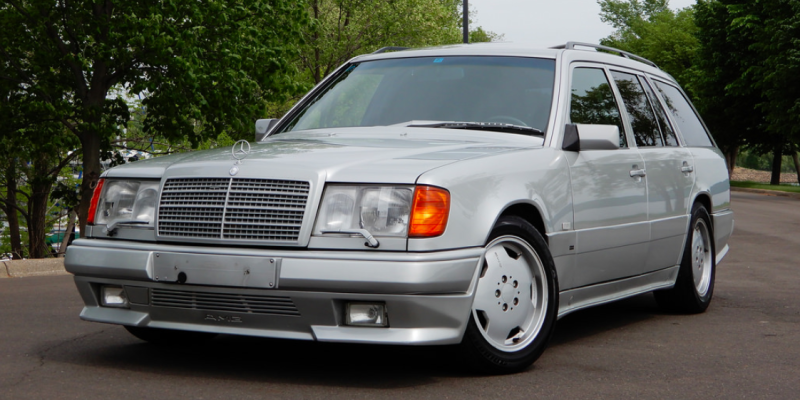 This Old School Mercedes Amg Wagon Is The Coolest Family Hauler