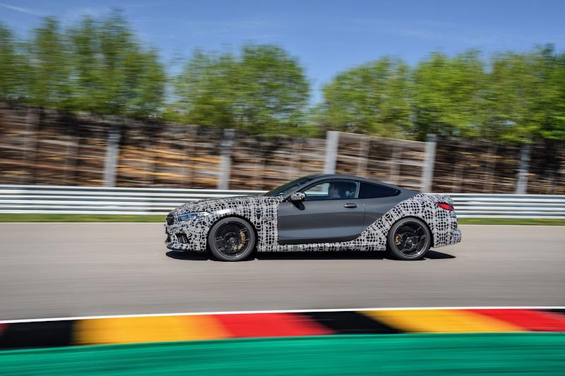 New BMW M8 teased … and fresh 'M Mode' button confirmed!