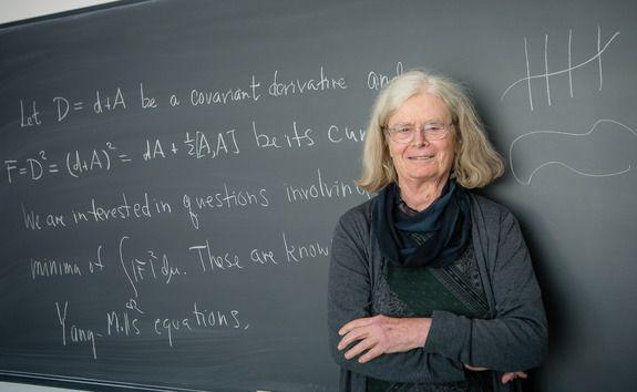 """<p>Dr. Karen Uhlenbeck <a href=""""https://www.ams.org/journals/notices/201906/rnoti-p939.pdf"""" rel=""""nofollow noopener"""" target=""""_blank"""" data-ylk=""""slk:earned this year's Abel Prize"""" class=""""link rapid-noclick-resp"""">earned this year's Abel Prize</a>, one of math's highest honors, for her decades of tremendous work. Dr. Uhlenbeck invented enough math to literally fill books. Her name is foremost in some super advanced math subjects, like geometric analysis and gauge theory.</p>"""