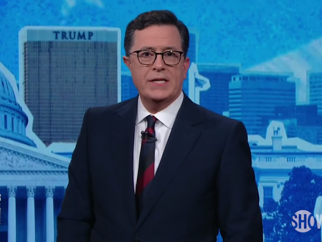 Stephen Colbert brings back Laura Benanti's Melania Trump for election special