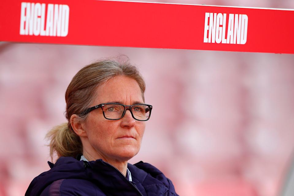 England's interim manager Hege Riise will coach Team GB in Tokyo (The FA via Getty Images)