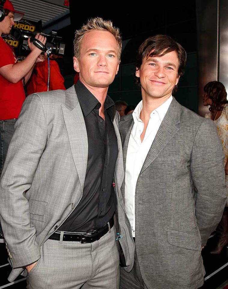 """Although he plays a womanizer on """"How I Met Your Mother,"""" Neil Patrick Harris has been in a committed relationship with boyfriend David Burtka since 2004. Kevin Winter/<a href=""""http://www.wireimage.com"""" target=""""new"""">WireImage.com</a> - April 17, 2008"""