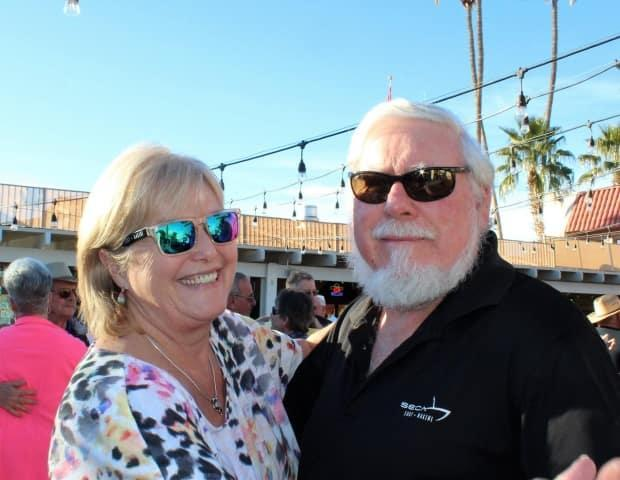 Wendy Caban and her husband Geoff travel to Arizona every winter. (Wendy Caban - image credit)