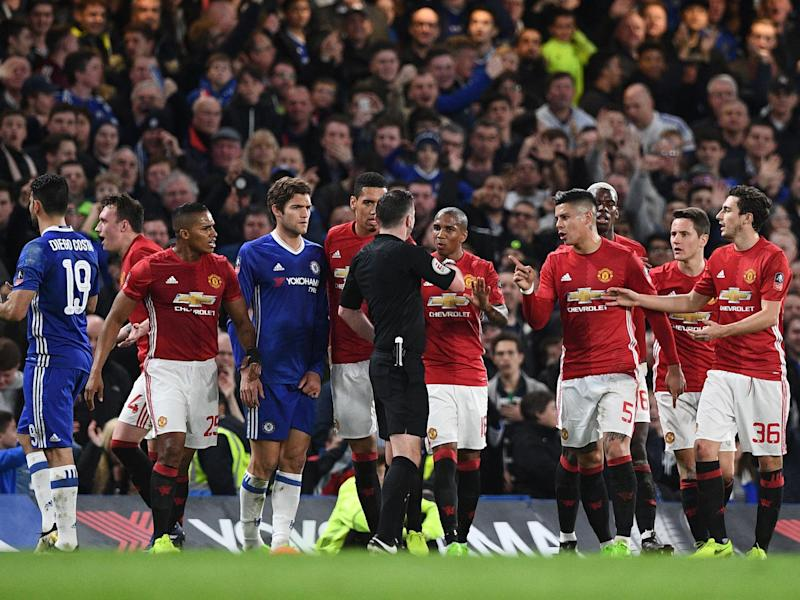 United have been fined by the FA: Getty