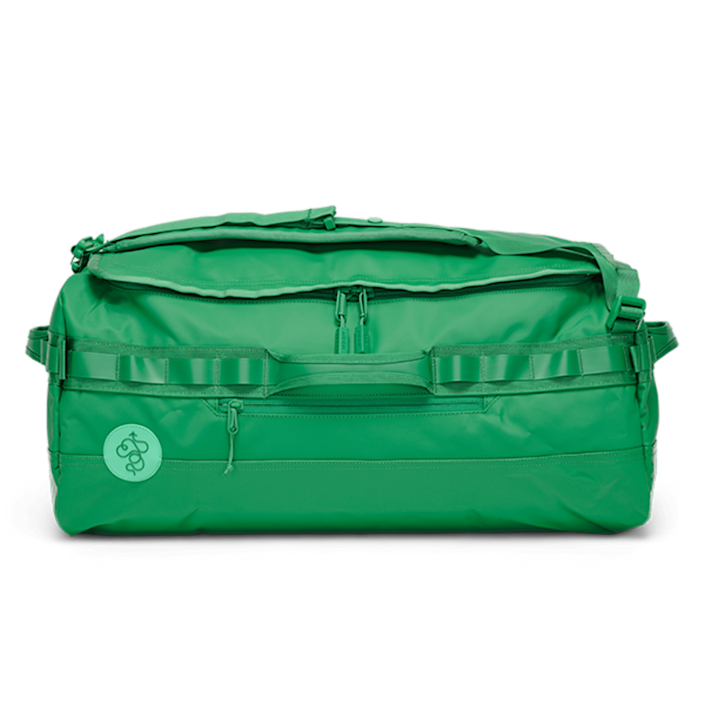 """I've been a fan of Baboon to the Moon bags for years, and this big go-bag, which fits 5+ days worth of clothing, has been with me on camping trips, train travel, and more. I love how durable it is and how much the color stands out at baggage claim. $199, Baboon to the Moon. <a href=""""https://baboontothemoon.com/products/go-bag-big-duffle#variant=green"""" rel=""""nofollow noopener"""" target=""""_blank"""" data-ylk=""""slk:Get it now!"""" class=""""link rapid-noclick-resp"""">Get it now!</a>"""