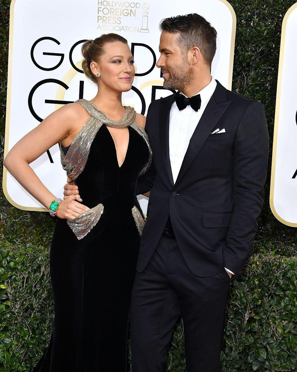 <p>I mean, do they ever stop looking at each other like this? 😍 (At the 2017 Golden Globes). </p>