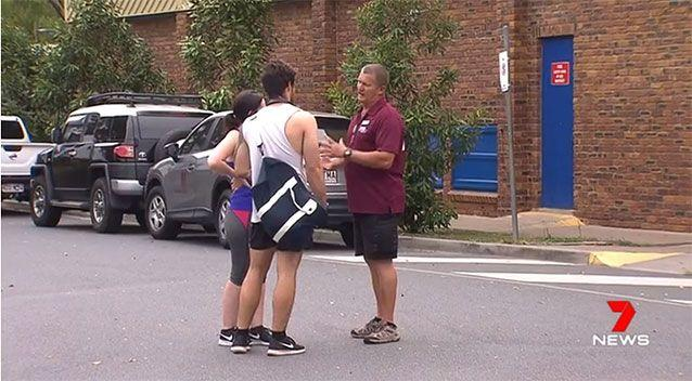 Gym-goers were turned away as investigations continue. Source: 7 News