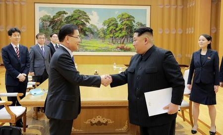 'possible progress being made in talks with North Korea'