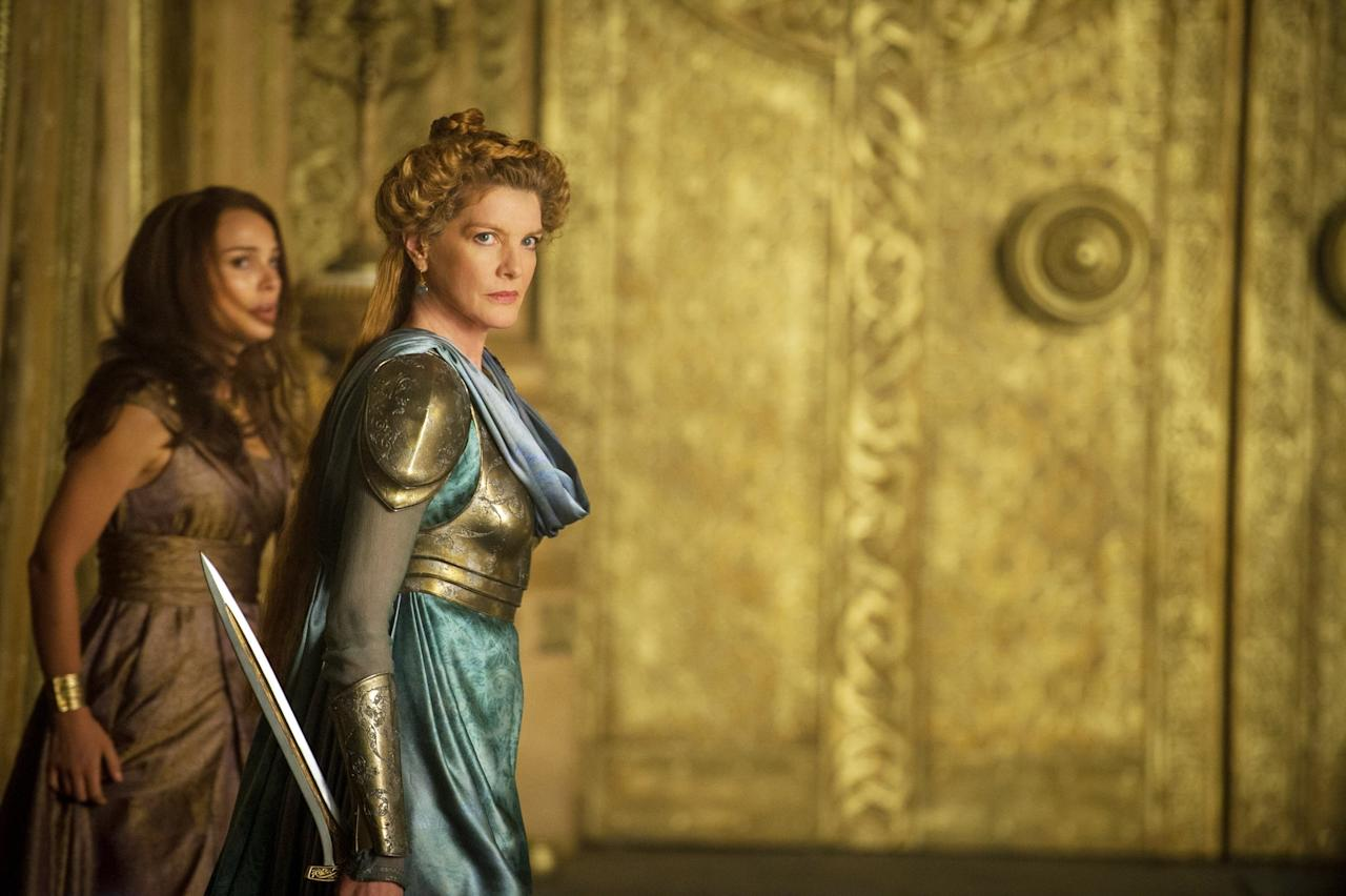 <p>The wife of Odin and mother of Thor and Loki meets her end in <strong>The Dark World</strong>. But she makes a reappearance in <strong>Endgame</strong> when Thor and Rocket travel in time to retrieve the Aether. She gives Thor a rousing pep talk that helps with his flagging self esteem.</p>