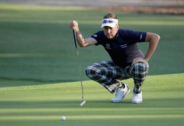 """<a class=""""link rapid-noclick-resp"""" href=""""/pga/players/2848/"""" data-ylk=""""slk:Ian Poulter"""">Ian Poulter</a> is up against it in his next two PGA Tour starts (Getty Images)"""